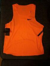 Nike Aeroswift NN Pro style orange Run Running Vest Top Mens Size Large L