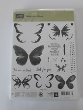 Stampin up ✿ Stempelset Watercolor Wings ✿ 15 Stempel Schmetterling Aquarell TOP