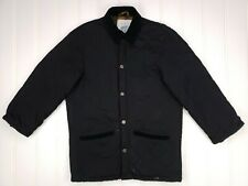 Beretta Quilted Jacket Black Sz 44 Fits Small Mens S Italy Hunting Sport Button