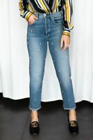 MCGUIRE DENIM Mrs Robinson High Rise Pearl Slouchy Slim Jeans You Fancy $298 #29