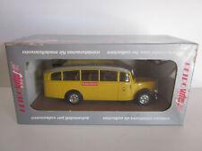 BUS CAR AUTOBUS SAURER TYPE C SUISSE SWISS POSTES POST par VITESSE 220 au 1/43