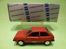 CONRAD 1021 VW VOLKSWAGEN POLO COUPE - RED 1:43 - GOOD CONDITION IN BOX