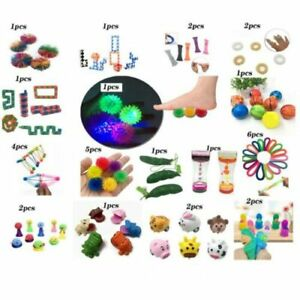 40 Pack Sensory Toys Set, Relieves Stress and Anxiety Fidget Toy for Children
