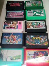 Nintendo Famicom Carts X10