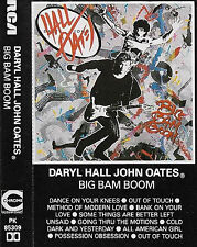 DARYL HALL JOHN OATES BIG BAM BOOM CASSETTE ALBUM GERMANY Pop Rock, Synth-pop