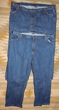 Lot of 2 ~ Lands' End  ~Size 48 ~ Traditional Fit Dark Wash Jeans w 33