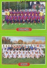 524 SQUADRA TEAM BOLOGNA.FC - CARPI.FC  ITALIA - STICKER CALCIATORI 2015 PANINI