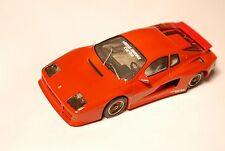 Ferrari Testarossa Coupe KOENIG SPECIALS TURBO, Starter / HANDARBEIT in 1:43!