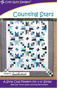Counting Stars Quilt Pattern by Cozy Quilt Designs