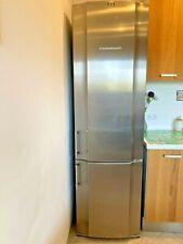 Kühlschrank mit Gefrierfach Edelstahl  freistehend Küppersbush