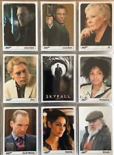 James Bond Archives 2014, Rittenhouse, 9 Card Poster Expansion Set, Skyfall