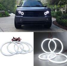Headlight White Angel Eyes Halo Ring LED Light For Land Rover Range Rover HSE