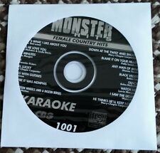 MONSTER HITS KARAOKE CDG DISC FEMALE COUNTRY HITS CD+G SHANIA TWAIN,REBA MH1001