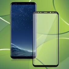 Samsung Galaxy S8 Plus Panzerglas Schutzglas Full Sceen Curved Glasfolie Glas