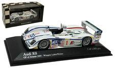 Minichamps Audi R8 'S-Line' #1 Winner GP Atlanta 2005 LehtoWerner - 1/43 Scale