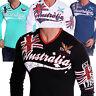 Herren Sweatshirt Langarmshirt Sweat Longsleeve UK Freizeit Langarm T-shirt NEU
