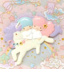 Sanrio Little Twin Stars Art Deco Unicorn Mirror Kawaii From Japan Rare