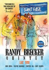 RANDY BRECKER New Sealed 2018 LIVE 1988 NEW YORK CONCERT DVD & CD SET