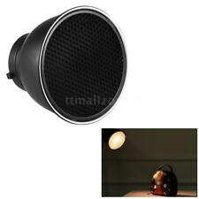 """7""""inch Reflector Diffuser Lamp Shade Dish+ Honeycomb Grid for Bowens Mount K6M2"""