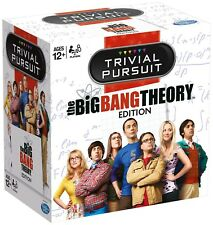 The Big Bang Theory 'Trivial Pursuit' Edition Card Game Brand New Gift