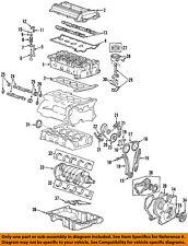 Saturn GM OEM 03-05 Ion-Engine Oil Pan 19256218
