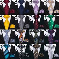 USA 99 Colors Mens Silk Tie Necktie Set Red Blue Green Brown Pink Gold Wedding