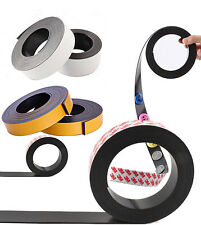 3mself Adhesive Backing Magnetic Tape Small Sticky Magnet Strip Flex 210m Long