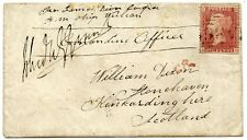 "1861 ""Sailors Letter"" from Japan with G.B. 1d addressed to Stonehaven, Scotland."