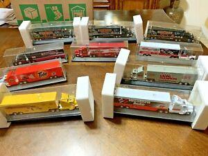 Lot of 10- Racing Champions 1:87 Diecast Transporter Premier Edition   Lot-M