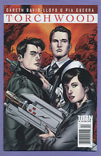 Torchwood #4 2010 Cover A Doctor Who Lloyd Moran Guerra Grist Willsher Titans L
