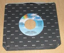 TONY CAREY - The First Day of Summer / One More Goodbye (45 RPM Single) VG+