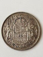 CANADA 1943 50 CENTS HALF DOLLAR KING GEORGE VI CANADA