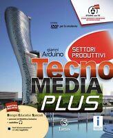 Tecnomedia PLUS (2 tomi) + DVD + WEB, Lattes scuola media cod:9788880429937