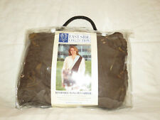 Easy Side Collection Za8637 19 Reversible Sling Pet Carrier Brown/Blue Os
