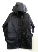 OBEY Men's FOXTROT Parka/Jacket - Black - Small - NWT