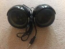 Cisco Coby CSP15 Mini Speakers CSP 15 Mulitmedia Stereo iPhone Speakers