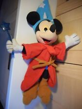 "DISNEY HASBRO FANTASIA SORCERER'S APPRENTICE MICKEY MOUSE PLUSH 20"" SOFT TOY"