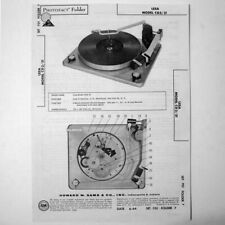 "Lesa Model Cd3/31 - Sams Photofact â""¢ 1964 - New Nos"