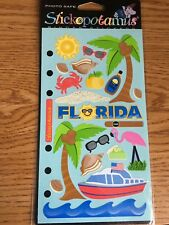 Florida Scrapbook Stickers