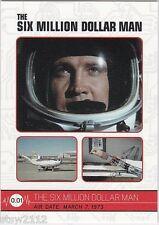 THE COMPLETE BIONIC COLLECTION SIX MILLION DOLLAR MAN WOMAN BASE CARD SET (163)