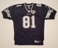 Dallas Cowboys Terrell Owens Authentic Jersey #81 Navy Reebok Mens Size 48 NWT