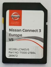 Carte SD GPS Europe 2020 v5 - Nissan Connect 3 LCN2 - (Q1.2019)