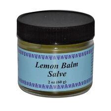WiseWays Herbals, LLC, Lemon Balm Salve, 2 oz (60 g)