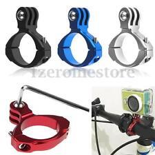 Bike Bicycle Aluminum Handlebar Bar Clamp Mount For Gopro Hero 3+/3/2/1 Camera