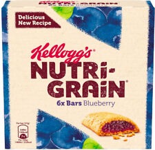 Kelloggs Nutri-Grain Breakfast Bars Blueberry  3x6x37g