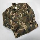 Ozark Trail Camo Jacket MEDIUM W/ Cold Weather Liner Hooded Hunting Military VTG