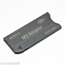 Original Sony M2 Card to Memory Stick MS Pro long Adapters,MSAC-MMS