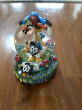Disney Mickey Mouse Fab Five Musical Snowglobe