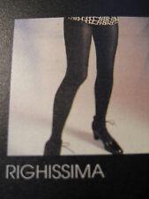 "Collezione trend by FRANCO BOMBANA ""IDENTIKIT"" - collant righiss. - marrone TG 1"