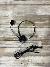 Pre-owned Panasonic Black Headband Headset with 2.5mm Jack